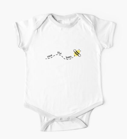 Save the Bees 3 One Piece - Short Sleeve