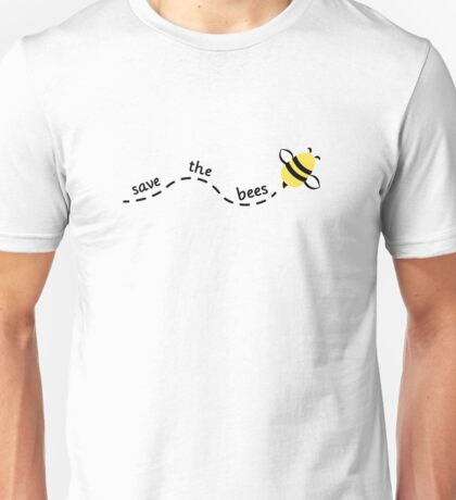 Save the Bees 3 Unisex T-Shirt