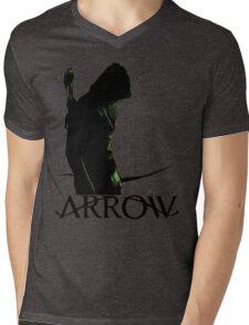 Arrow Hero Mens V-Neck T-Shirt