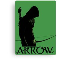 Arrow Hero Canvas Print