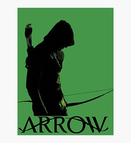 Arrow Hero Photographic Print