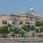 The Castle District from the Danube by Graeme  Hyde