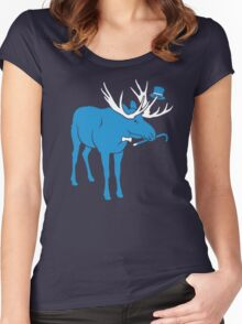 Sir Moose (Sir Critter) Women's Fitted Scoop T-Shirt