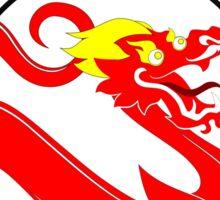 vaping dragon Sticker