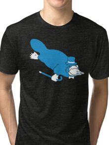Sir Platypus (Sir Critter) Tri-blend T-Shirt