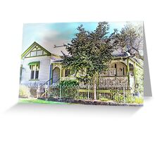 Australian Cottage Collection: Julia Greeting Card