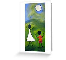 Happy children Greeting Card