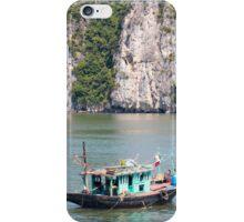 Fishing Boat Halong Bay Vietnam iPhone Case/Skin
