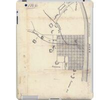Civil War Maps 0083 Augusta Ga 1864 iPad Case/Skin