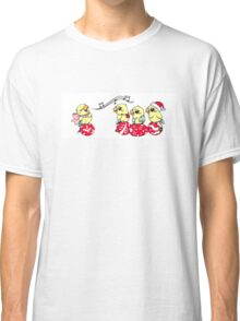 Cute singing lovebird Classic T-Shirt