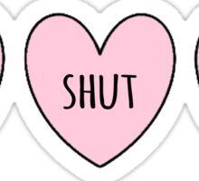 Please Shut Up Sticker
