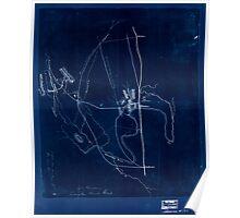 Civil War Maps 1115 McPherson at Snake Creek Gap May 8-13 1864 Inverted Poster