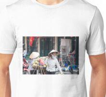 Vietnam Street Sellers Vendors Unisex T-Shirt