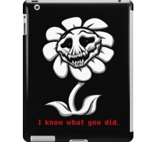I Know Whay you did. - Undertale iPad Case/Skin