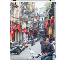 Hanoi Old Quarter Vietnam iPad Case/Skin