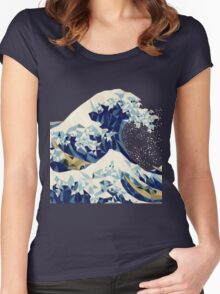 KANAGAWA WAVE Women's Fitted Scoop T-Shirt