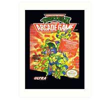 TMNT II: The Arcade Game Art Print