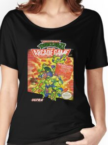 TMNT II: The Arcade Game Women's Relaxed Fit T-Shirt