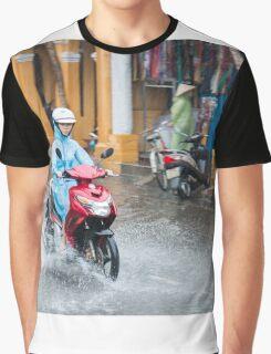 Rainy Season in Vietnam Graphic T-Shirt