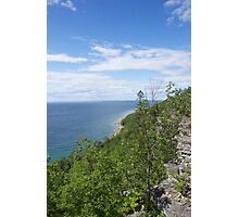 Gore Bay Bluffs Photographic Print