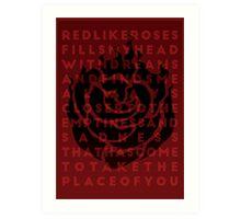 Ruby Rose Print Art Print
