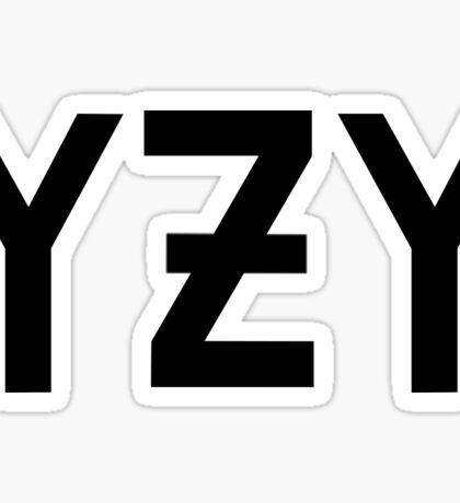 YZY - YEEZY- KANYE Sticker