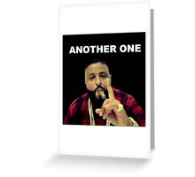 Another One : DJ Khaled Inspirational Snapchat Greeting Card