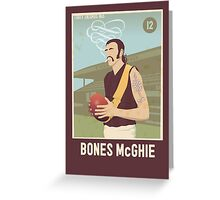 Bones McGhie - Richmond Greeting Card