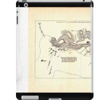 Civil War Maps 0092 Batteries at Grand Gulf captured by the United States Mississippi Squadron May 3 1863 iPad Case/Skin