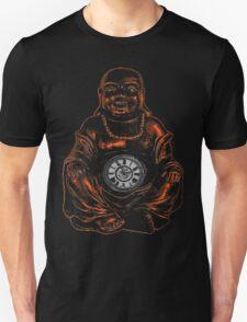 Belly Clock Buddha Unisex T-Shirt