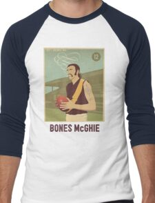 Bones McGhie - Richmond Men's Baseball ¾ T-Shirt