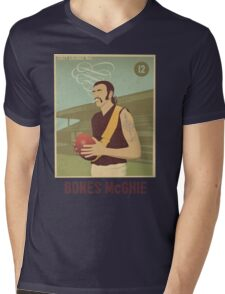Bones McGhie - Richmond Mens V-Neck T-Shirt