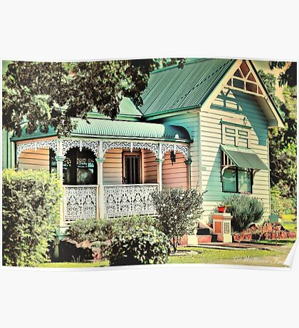 Australian Cottage Collection: Lucy Poster