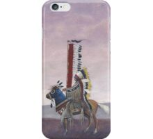 """Cheyenne Chief"" by M. Rabago iPhone Case/Skin"