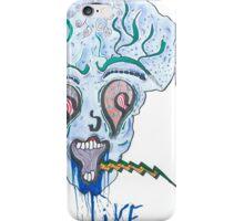 demonic clown original drawing iPhone Case/Skin