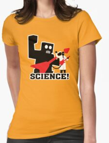 Rock Robot (Science!) Womens Fitted T-Shirt