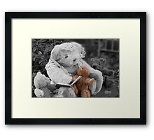 Storytime - The Bearfoot Society™ Framed Print