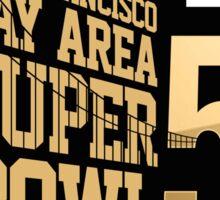 Super Bowl 50 III Sticker