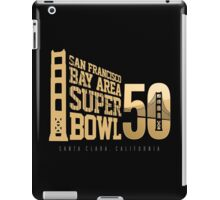 Super Bowl 50 III iPad Case/Skin