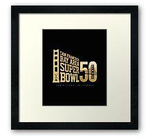 Super Bowl 50 III Framed Print