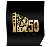 Super Bowl 50 III Poster