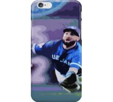 Kevin Pillar Takes a Dive iPhone Case/Skin