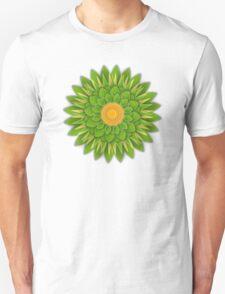 Green Sunflower T-Shirt