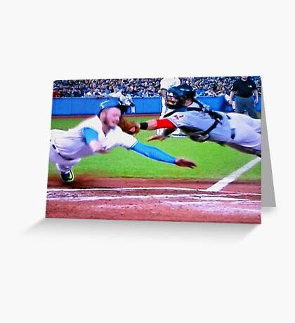 Josh Donaldson Comes Home Greeting Card