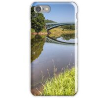 The River Wye at Bigsweir iPhone Case/Skin