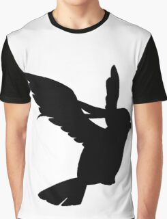 Pidgeot silhouette Graphic T-Shirt