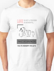 photographer and love T-Shirt