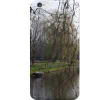 Spring by the canal iPhone Case/Skin