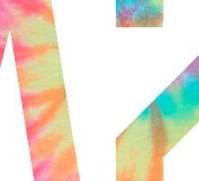 Tie Dye DZ Sticker