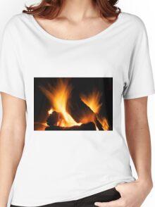 Winter fire Women's Relaxed Fit T-Shirt